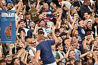 Lazio fans cheer on <br /> Roma 29-9-2019 Stadio Olimpico <br /> Football Serie A 2019/2020 <br /> SS Lazio - Genoa CFC <br /> Foto Andrea Staccioli / Insidefoto