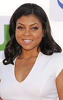 BEVERLY HILLS, CA - JULY 29: Taraji P. Henson arrives at the CBS, Showtime and The CW 2012 TCA summer tour party at 9900 Wilshire Blvd on July 29, 2012 in Beverly Hills, California. /NortePhoto.com<br />