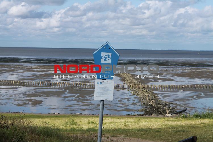 08.08.2013, Nordseeinsel Sylt, GER, im Bild Wattenmeer, Foto © nph / Kohring
