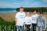 Shannon Brady has neurofibromatosis, a rare neurological condition caused by a single gene mutation that sees tumours grow along various types of nerves, with her family  was in Ballybunion on Tuesday to support Children with Tumours Ireland Neurofibromatosis awareness day Pictured  Tony Brady (dad) Alison Brady (mom) and brother Danny Brady