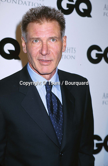 Harrison Ford arriving at the 1st annual GQ Hollywood Issue party in Los Angeles  2/16/2000<br />           -            Ford Harrison -24048b.jpg