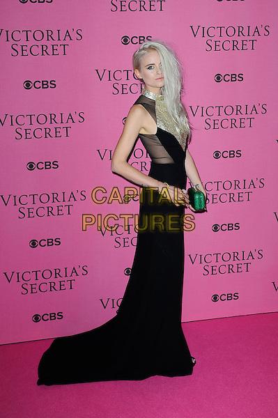 LONDON, ENGLAND - DECEMBER 2: Kyla La Grange attends the pink carpet for Victoria's Secret Fashion Show 2014, Earls Court on December 2, 2014 in London, England.<br /> CAP/MAR<br /> &copy; Martin Harris/Capital Pictures