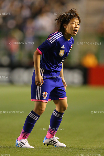 Aya Miyama (JPN), <br /> MAY 6, 2014 - Football /Soccer :  <br /> International friendly match<br /> between Japan 2-1 New Zealand <br /> at Kincho Stadium, Osaka, Japan. (Photo by Yohei Osada/AFLO SPORT)