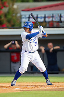 Meibrys Viloria (29) of the Burlington Royals at bat against the Greeneville Astros at Burlington Athletic Park on June 29, 2014 in Burlington, North Carolina.  The Royals defeated the Astros 11-0. (Brian Westerholt/Four Seam Images)