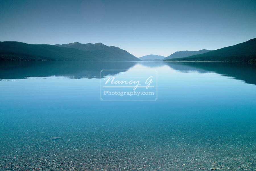 Glacial Lake McDonald, Glacier National Park, Montana
