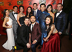 "Ensemble cast members attends The Opening Night After Party for the New Broadway Production of ""Miss Saigon"" at Tavern on the Green on March 23, 2017 in New York City"