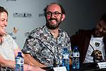 "Spanish director Borja Cogeaga during the projection of the short film ""Milagros y Remedios"", the second part of the group film ""En tu Cabeza"" at the Festival de Cine Fantastico de Sitges in Barcelona. October 07, Spain. 2016. (ALTERPHOTOS/BorjaB.Hojas)"