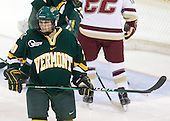 Lindsey Cashman (Vermont - 20) - The University of Vermont Catamounts defeated the Boston College Eagles 5-1 on Saturday, November 7, 2009, at Conte Forum in Chestnut Hill, Massachusetts.