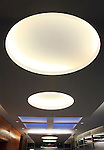 Architectural Interior Image - Big Round Ceiling Lights And Skylight.