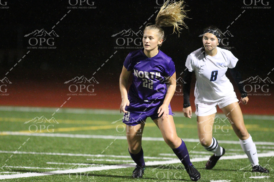 2016-2017 North Kitsap HS vs Olympic HS Girls Soccer Game Action 10-13-16
