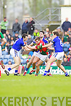 Kerry in action against  Mayo in the National Football League in Austin Stack Park on Sunday..