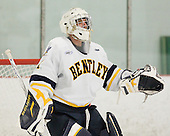 Kyle Rank (Bentley - 1) - The Bentley University Falcons defeated the visiting Sacred Heart University Pioneers 6-2 in their home opener on November 3, 2010, at John A. Ryan Skating Center in Watertown, Massachusetts.