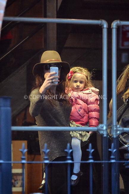 WWW.ACEPIXS.COM<br /> <br /> January 6 2014, New York City<br /> <br /> Bethenny Frankel picks up her daughter Bryn Hoppy from school on January 6 2014 in New York City<br /> <br /> By Line: Curtis Means/ACE Pictures<br /> <br /> <br /> ACE Pictures, Inc.<br /> tel: 646 769 0430<br /> Email: info@acepixs.com<br /> www.acepixs.com