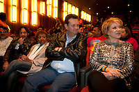 SAO PAULO, SP - 10 DE JUNHO DE 2012- COLETIVA PARADA GAY - O deputado Federal Jean Willys a deputada estadual Lecy Brandao, o prefeito de Sao Paulo Gilberto Kassab e a Senadora Marta Suplicy participaram na manhã deste domingo 10, da coletiva de abertura do Orgulho LGBT de São Paulo.<br /> FOTO VAGNER CAMPOS / BRAZIL PHOTO PRESS