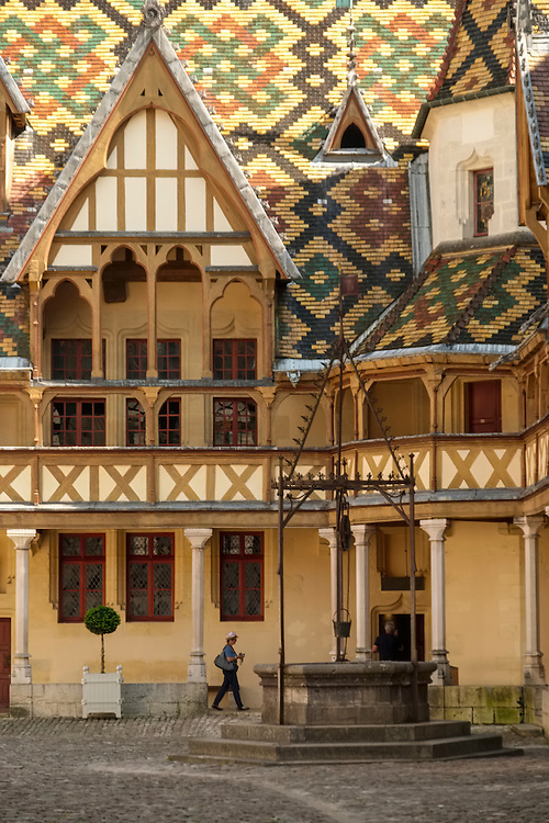 Located in Beaune, this unique medieval charity hospital is now transformed into a museum providing a glimpse into the town's past.
