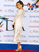 NEW YORK CITY, NY, USA - JUNE 02: Sophia Bush arrives at the 2014 CFDA Fashion Awards held at Alice Tully Hall, Lincoln Center on June 2, 2014 in New York City, New York, United States. (Photo by Celebrity Monitor)