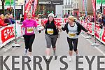 Jason Flaherty, 1156, Louise Mahoney, 1305 and Margret Mahoney, 1306  who took part in the 2015 Kerry's Eye Tralee International Marathon Tralee on Sunday.