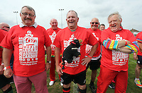 Pictured: Some of the participants in Cardiff, Wales, UK. Wednesday 24 August 2016<br />
