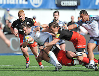 Saracens v Newcastle Falcons. Aviva Premiership Rugby, May 1, 2016