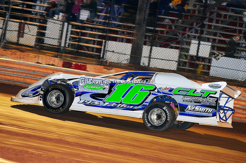 Jan 30, 2010; 7:35:18 PM; Waynesville, GA., USA; The Southern All Stars Racing Series running The Super Bowl of Racing VI at Golden Isles Speedway.  Mandatory Credit: (thesportswire.net)