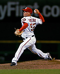 4 August 2007: Washington Nationals pitcher Saul Rivera on the mound against the St. Louis Cardinals at RFK Stadium in Washington, DC. The Nationals defeated the Cardinals 12-1 in the second game of their 3-game series...Mandatory Photo Credit: Ed Wolfstein Photo