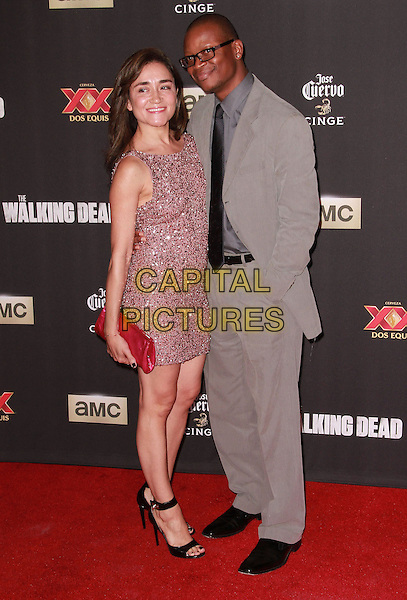 2 October 2014 - Universal City, California -Sarah-Jane Potts attends AMC celebrates the season five premiere of its hit series, &ldquo;The Walking Dead,&rdquo;  at the  AMC Universal Citywalk Stadium 19/IMAX.  <br /> CAP/ADM/TBO<br /> &copy;Theresa Bouche/AdMedia/Capital Pictures