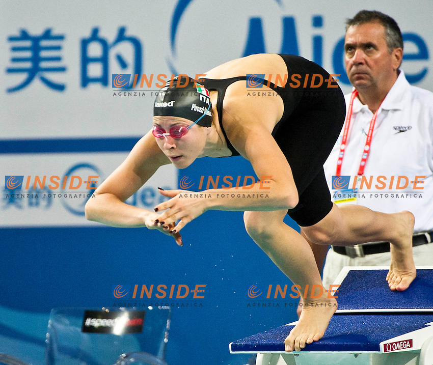 PIROZZI Stefania ITA..Women's 200m Butterfly..FINA World Short Course Swimming Championships.Istanbul Turkey 12 - 16 Dec. 2012.Day 01.Photo G.Scala/Deepbluemedia/Inside