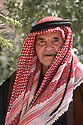 A PIECE OF JORDAN - TRAVEL FEATURE.ASAD'S FATHER, HAJJ AHMAD, 81. PHOTO BY CLARE KENDALL. 07971 477316.