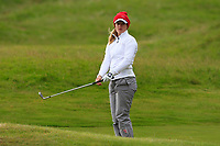 Michelle Forsland (NOR) on the 1st during Round 2 of the Women's Amateur Championship at Royal County Down Golf Club in Newcastle Co. Down on Wednesday 12th June 2019.<br /> Picture:  Thos Caffrey / www.golffile.ie