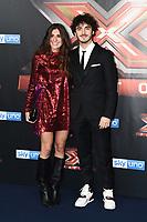 Domizia Castagnini-Francesco Bagnaia<br /> Milano 13-12-2018 <br /> Photocall Ospiti Finale TV X Factor 2018 <br /> Foto Daniele Buffa / Image / Insidefoto