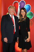 Donald Trump and Melania Trump at NBC's Upfront Presentation at Radio City Music Hall on May 14, 2012 in New York City. © RW/MediaPunch Inc.