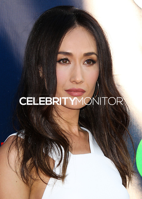 WEST HOLLYWOOD, CA, USA - JULY 17: Actress Maggie Q arrives at the CBS, CW And Showtime 2014 TCA Summer Stars Party held at the Pacific Design Center on July 17, 2014 in West Hollywood, California, United States. (Photo by Xavier Collin/Celebrity Monitor)