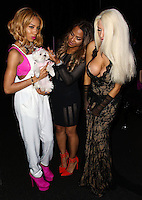 LOS ANGELES, CA, USA - MARCH 14: Lil' Mama, Christina Milian, Courtney Stodden at the Style Fashion Week Los Angeles 2014 7th Season - Day 5 held at L.A. Live Event Deck on March 14, 2014 in Los Angeles, California, United States. (Photo by Xavier Collin/Celebrity Monitor)