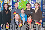 CULTURE: Student's from Germany at the ITT Tralee on Thursday exlaining to fellow studentson their culture at the open day. l-r: Corinna Herd(Germany),Klavdia Kwapis(Poland),Pierre Muzellec(France),Jonas Sckaefer(Germany),Christina Quevedo(Spain),Christian Jaeger(jermany0 and Joanna Vlatowsua(Poland)..