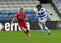 Eberechi Eze of Queens Park Rangers controls the ball during Queens Park Rangers vs Fulham, Sky Bet EFL Championship Football at the Kiyan Prince Foundation Stadium on 30th June 2020