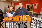 Katie & Tom Gwis of K & T Bakery, Cahersiveen with some of their freshly baked daily breads and buns.