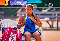 Hilversum, Netherlands, August 6, 2018, National Junior Championships, NJK, Isabella Mujan (NED)<br /> Photo: Tennisimages/Henk Koster