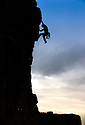 29/06/14<br /> <br /> Loz Hible from Lincoln is first up this morning.<br /> <br /> To mark the 70th anniversary of the British Mountaineering Council (BMC), climbers flock to Stanage Edge near Hathersage, in the Derbyshire Peak District to compete in climbing and bouldering competitions held over the weekend at the Stanage Festival 2014.<br />  <br /> All Rights Reserved: F Stop Press Ltd. +44(0)1335 300098   www.fstoppress.com.