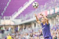 Orlando, FL - Sunday May 14, 2017: Camila during a regular season National Women's Soccer League (NWSL) match between the Orlando Pride and the North Carolina Courage at Orlando City Stadium.