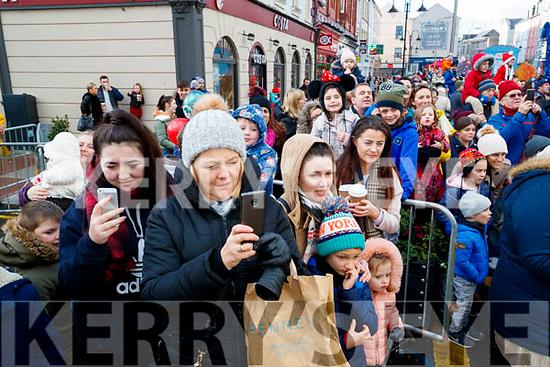 The CH Chemist Santa parade, Tralee on Saturday