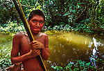 Yanomamo tribesman, Parima Tapirapeco National Park, Venezuela