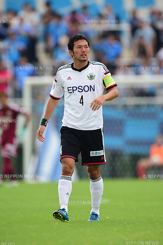 Masaki Iida (Yamaga),<br /> OCTOBER 4, 2014 - Football / Soccer :<br /> 2014 J.League Division 2 match between Yokohama FC 0-2 Matsumoto Yamaga FC at Ajinomoto Field Nishigaoka in Tokyo, Japan. (Photo by AFLO)