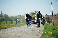 Gregory Rast (CHE/TrekFactoryRacing)<br /> <br /> 2014 Paris-Roubaix reconnaissance