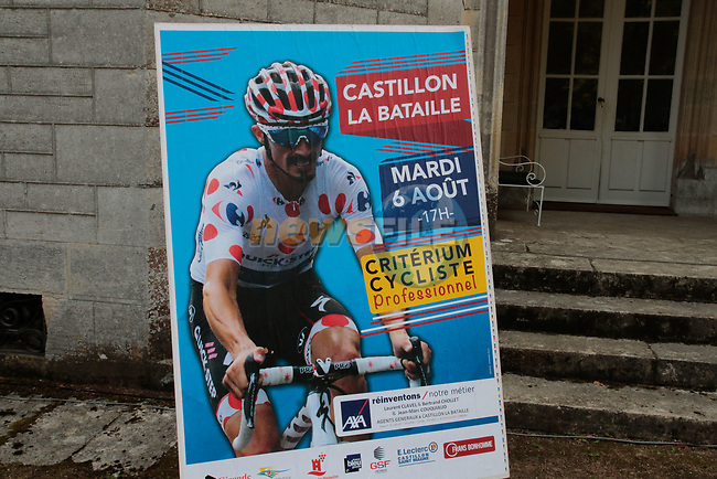 Criterium Castillon La Bataille 2019 the first criterium after the Tour de France held around Ville de Castillon-la-Bataille, France. 6th August 2019.<br /> Picture: Colin Flockton | Cyclefile<br /> All photos usage must carry mandatory copyright credit (© Cyclefile | Colin Flockton)