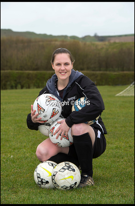 BNPS.co.uk (01202 558833)<br /> Pic: PhilYeomans/BNPS<br /> <br /> Forget Vardy, Kane and Aguero  - Dorset goal machine Becky Narramore has got more goals than all of them put together this season...<br /> <br /> There's a new fox in the box in the shape of super striker Becky Narramore who has scored a staggering 80 goals in just 11 games this season.<br /> <br /> Becky, 27, has taken the Dorset Women's League by storm this season and has averaged an impressive 7.2 goals a game. <br /> <br /> She has netted more times than Premier League stars Vardy, Harry Kane and Sergio Aguero combined.