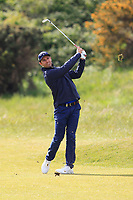 Andrea Pavan (ITA) on the 8th fairway during Round 2 of the Betfred British Masters 2019 at Hillside Golf Club, Southport, Lancashire, England. 10/05/19<br /> <br /> Picture: Thos Caffrey / Golffile<br /> <br /> All photos usage must carry mandatory copyright credit (&copy; Golffile | Thos Caffrey)