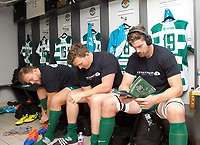 Dressing room before the RFU Championship Cup match between Ealing Trailfinders and Ampthill RUFC at Castle Bar , West Ealing , England  on 28 September 2019. Photo by Alan  Stanford / PRiME Media Images