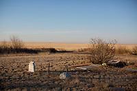 Rudyard Montana rural cemetery