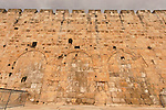 Israel, Jerusalem Archaeological Park, the Triple Hulda Gate at the Ophel area<br />