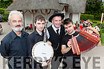Tim O'Shea, Sean Kelliher, Ray O'Sullivan and Michael Kelliher who played at the Spraoi concert in Killarney on Saturday